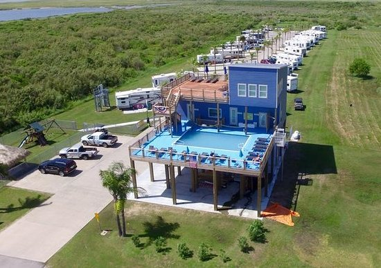 Excellent Review Of Bolivar Rv Resort Crystal Beach Tx