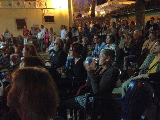 Groznjan, Kroatien: Jazz is back 2016, natürlich Open Air