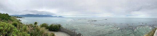 Kaikoura, Nuova Zelanda: Panorama photo from Peninsula Walkway