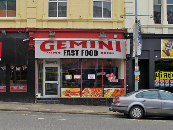 Gemini fast food liverpool restaurant reviews phone for Fast food restaurants open on easter
