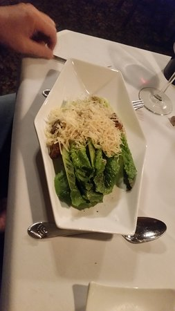 The Copper Door: Caesar Salad, such a lovely presentation combined with the all the flavors you expect and enjoy