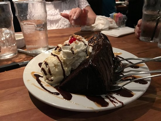 Wellington, FL: Hot fudge cake sundae, huge & delicious
