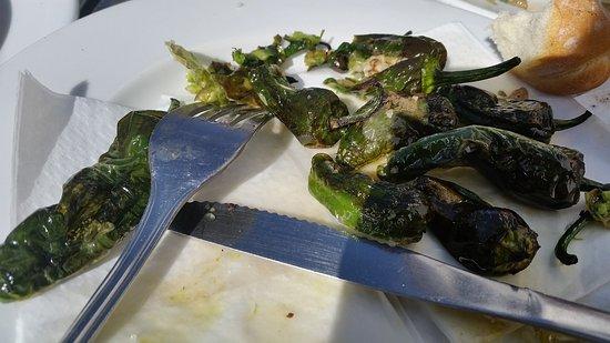 Artenara, Ισπανία: poivrons