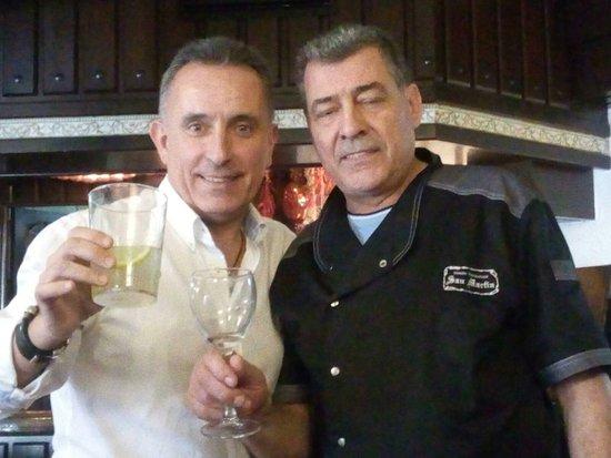 Cabra, España: Con el gran CHEF Kiko Valle...