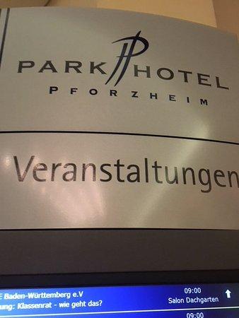Parkhotel Pforzheim Aufnahme