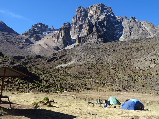Mount Kenya National Park, เคนยา: Old Moses camp