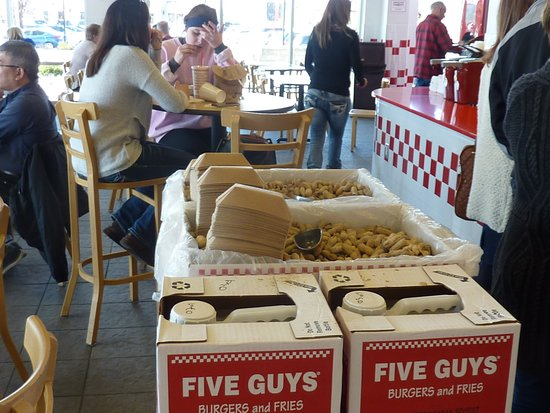 Miamisburg, Οχάιο: Five Guys_Austin Landing