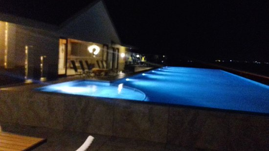 lights are gr8 on rooftop picture of the bheemili resort managed