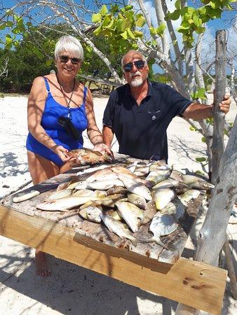 Posada Lagunita: 20 kg in due ore di pesca!!!