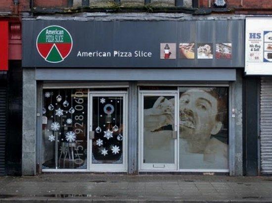 American Pizza Slice Waterloo Liverpool Restaurant