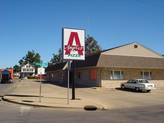 Taylorville, IL: Angelo's - Street View