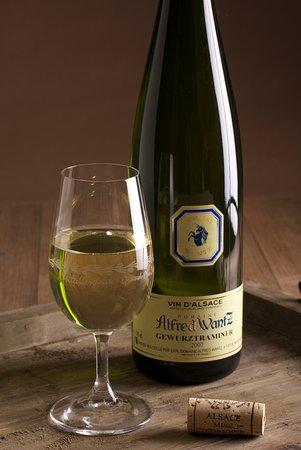 Mittelbergheim, France: ... côtoient les classiques du vignoble Alsacien...