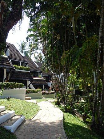 Kamala Beach Estate: les maisons