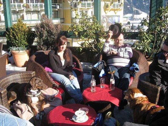 Fugen, Österrike: Sonnenterrasse vom Kohlerhof