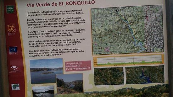 El Ronquillo, إسبانيا: Restaurante La Estación, ruta minera del Ronquillo