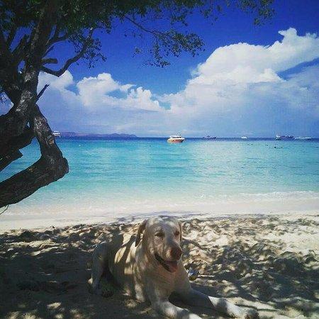 Ko Lan, Thailand: пляж