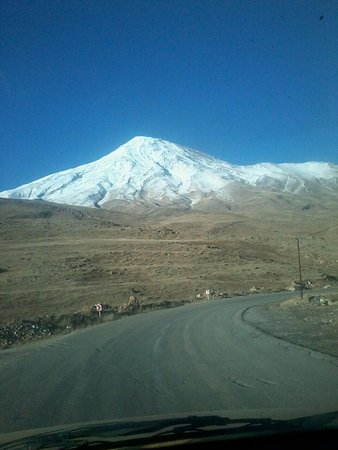 Mazandaran Province, Iran: Damavand mountain and its spa