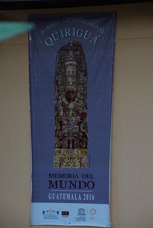Quirigua, Guatemala : affiche
