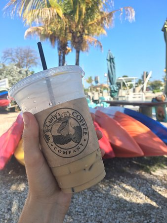 Curly's Coffee Company: Curly's has the BEST iced vanilla lattés!