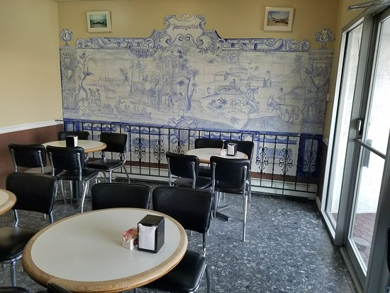 Portugalia Bakery Comfy Cafe Style Tables With Padded Chairs To Enjoy Uummy Pastries Have