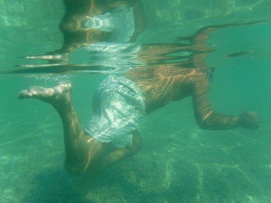 Bahia de la Luna: underwater swimming