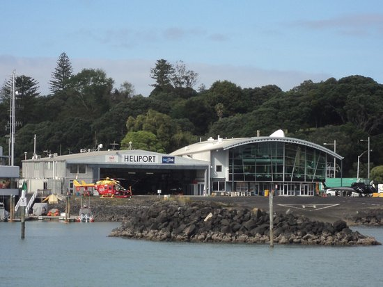 Fullers Auckland Harbour Cruise: Heliport