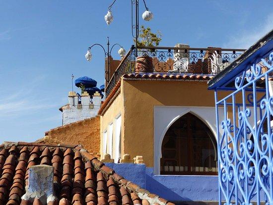 Hotel Hicham: upper terrace