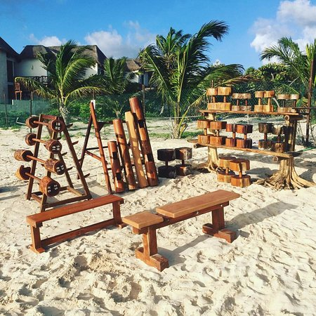 Prime Wooden Weights Picture Of Tulum Jungle Gym Tripadvisor Theyellowbook Wood Chair Design Ideas Theyellowbookinfo