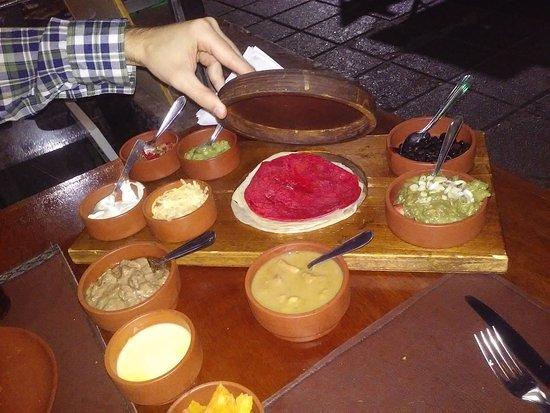 Taco Tabasco : Taquizas especiales..muy buenas salsas
