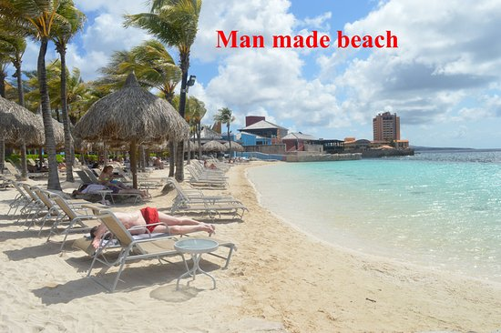 Renaissance Curacao Resort Man Made Beach At Hotel