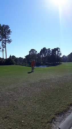 Hilton Head National: The Mr. about to tee off
