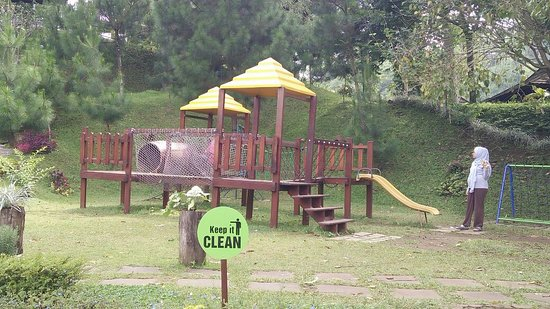 Green Forest Resort: Clean and good enough play ground