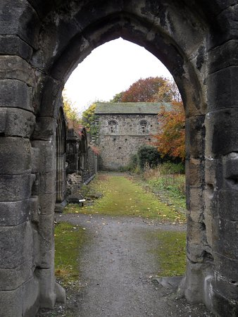 Abbey ruins at Whalley