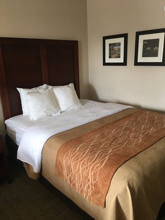 Comfort Inn Westport: Relaxing clean room