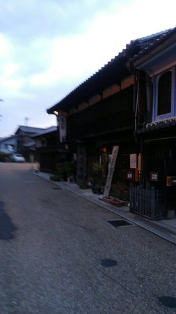 Kameyama, Japan: 夜の関宿も風情あり。