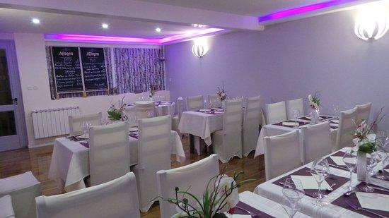Belleville, Francia: Salle du  restaurant