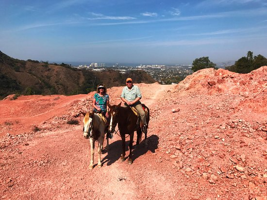 Rancho El Charro: View of the city of Puerto Vallarta