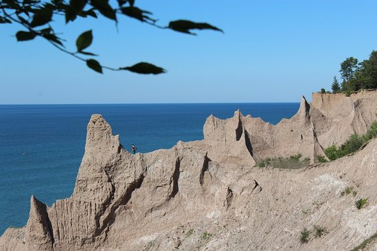 Photo of Park Chimney Bluffs State Park at 7700 Garner Rd, Wolcott, NY 14590, United States