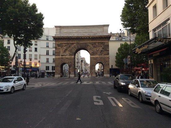 Porte saint martin paris frankrig anmeldelser for Porte saint martin