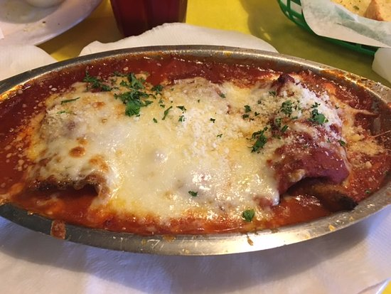 Forest City, Carolina do Norte: Eggplant Rollatini