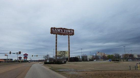Sam's Town Casino : sign