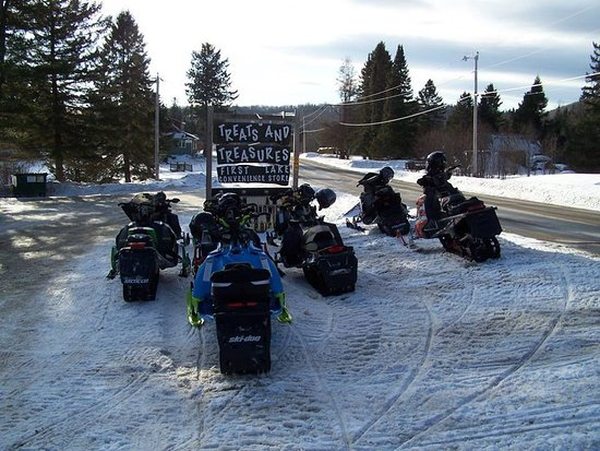 A snowmobiling one stop shop in Pittsburg NH