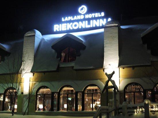Lapland Hotel Riekonlinna : Frente do hotel