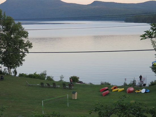 Westmore, VT: Zoomed in picture, View from Gazebo room
