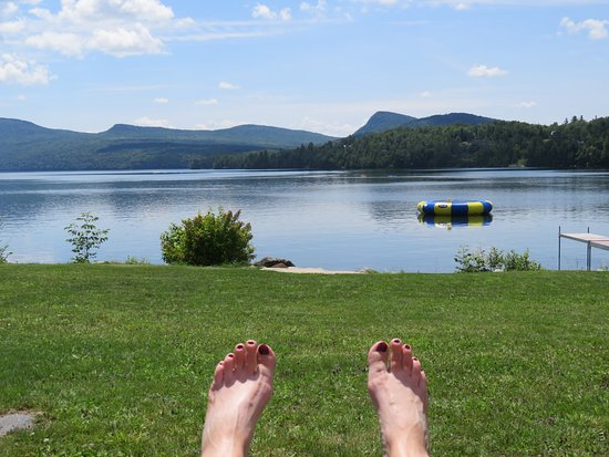 Westmore, VT: How Tranquil is that? Therapy, NOTHING a doctor could ever prescribe! LOVED IT!