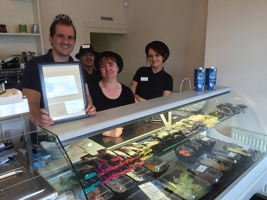 Bacup, UK: Winner Best Sandwiches - Rossendale and Darwen Pub and Grub Awards - Presented by MP Jake Berry