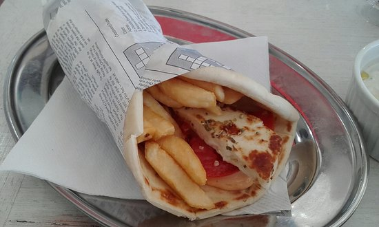 Petersham, Australien: Haloumi Pita Wrap