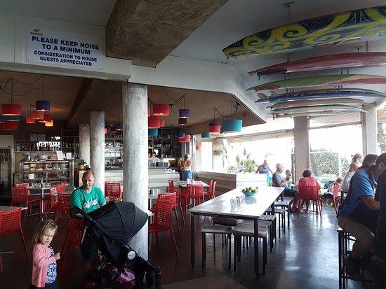 Coolum Beach, Australia: Restaurant dining area