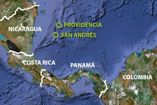 San Andres Colombia Mapa.Mapa Del Paraiso Picture