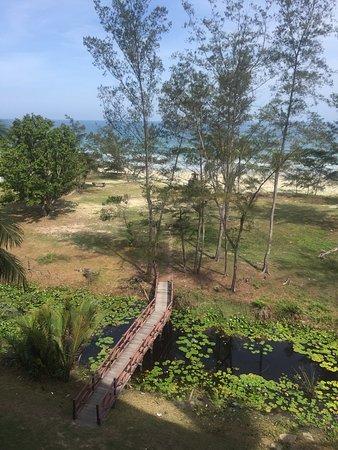 Relaxing beach resort